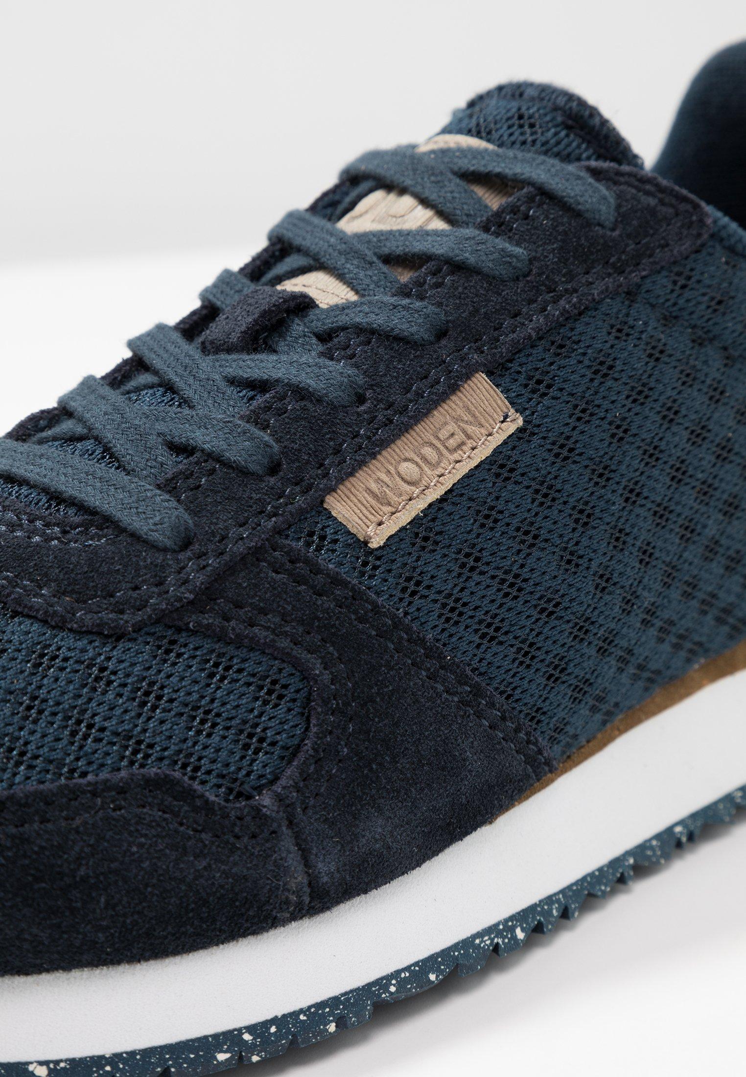 Ydun Suede Mesh Sneakers laag navy