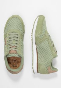 Woden - Ydun Suede Mesh - Sneakers - dusty olive - 3