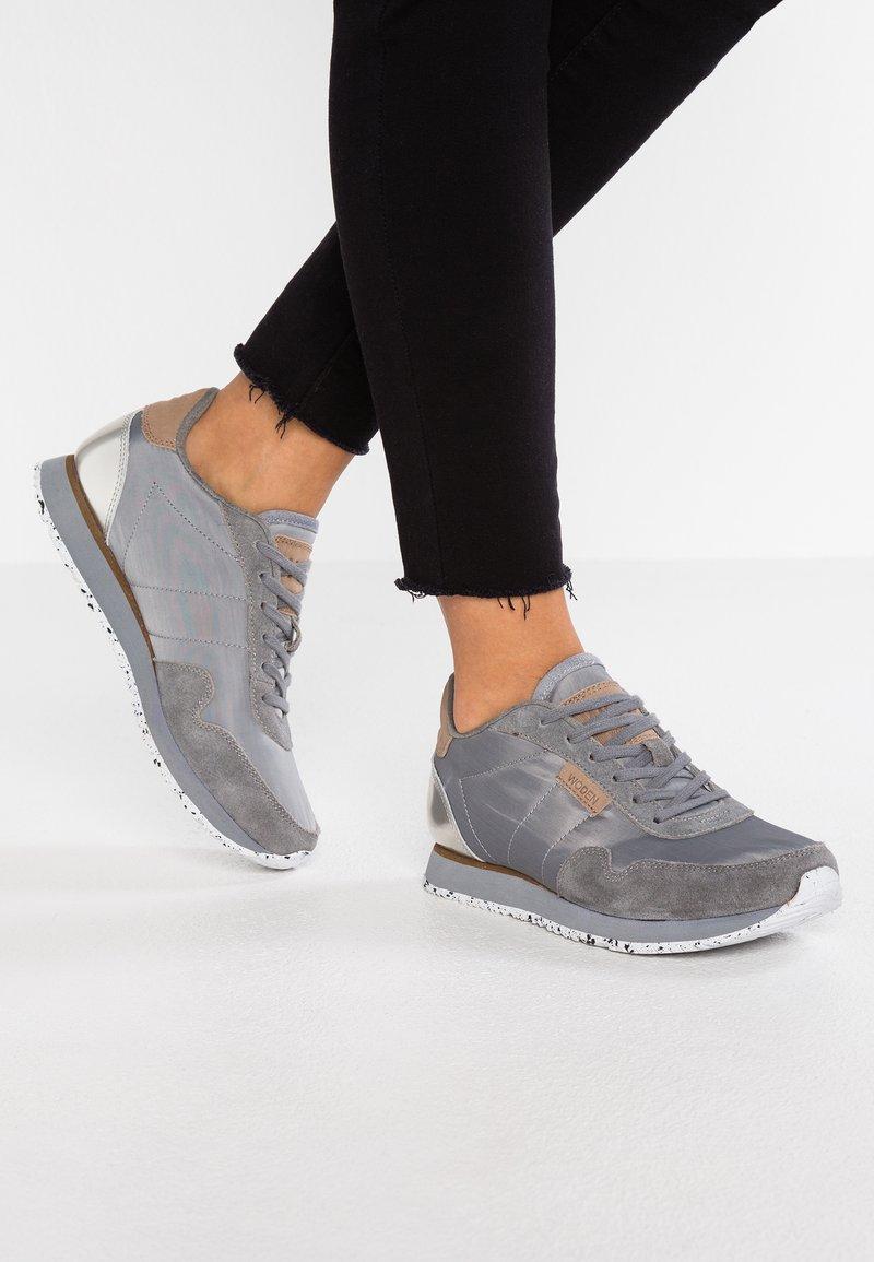 Woden - NORA  - Sneakersy niskie - autumn grey
