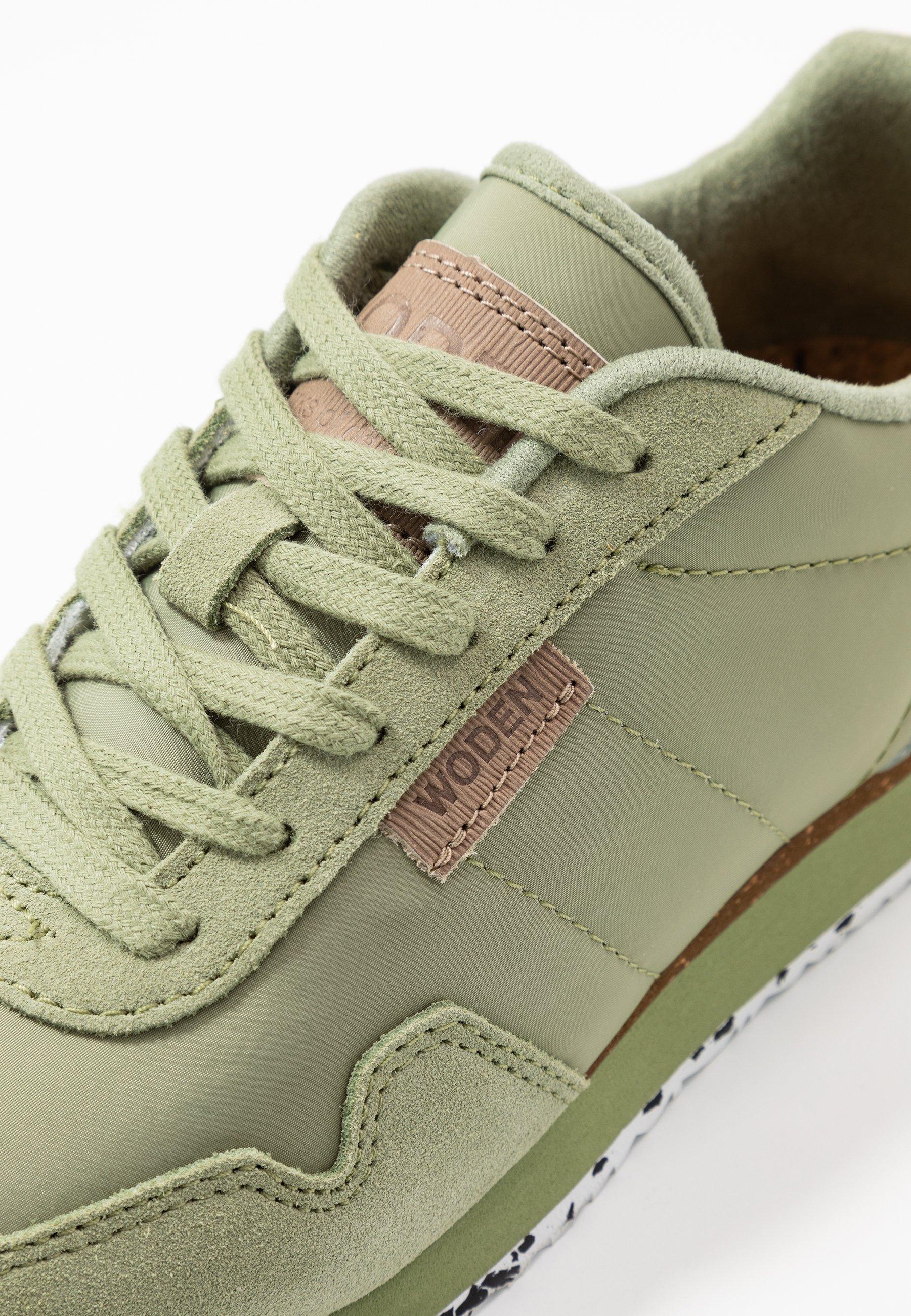 Woden NORA II - Sneakersy niskie - dusty olive
