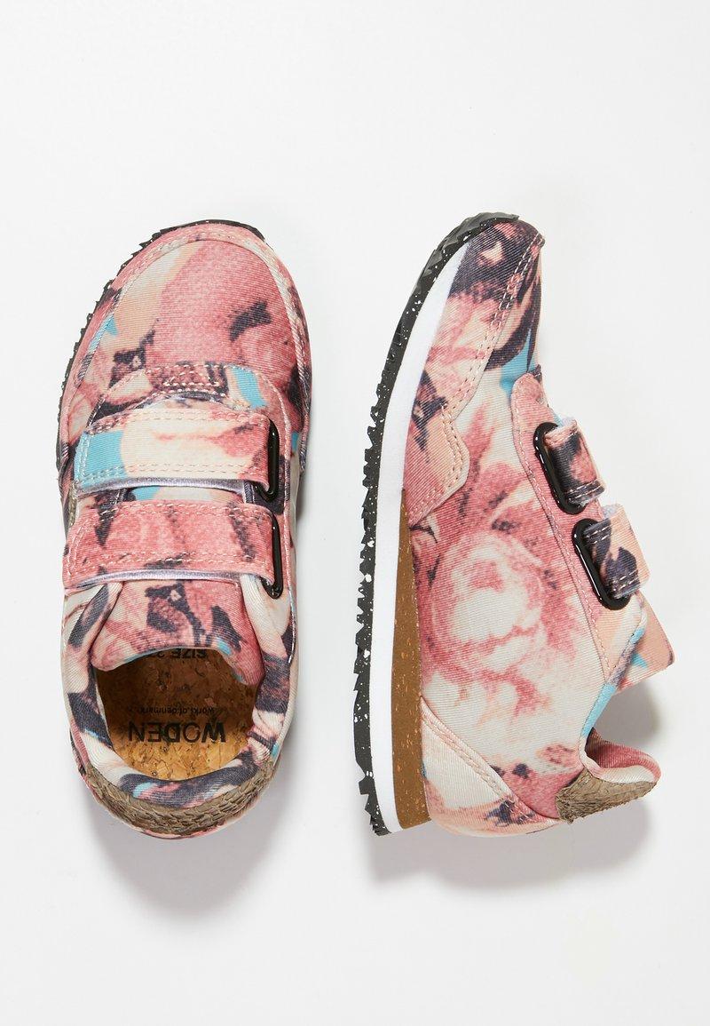 Woden - MIRA FLOWER KIDS - Sneakersy niskie - rose