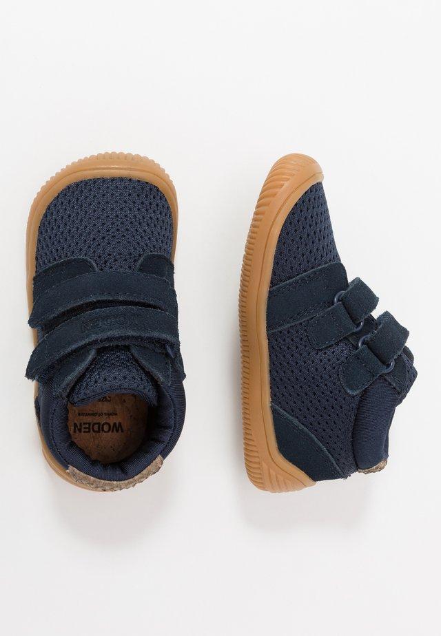 TRISTAN BABY - Lær-at-gå-sko - navy