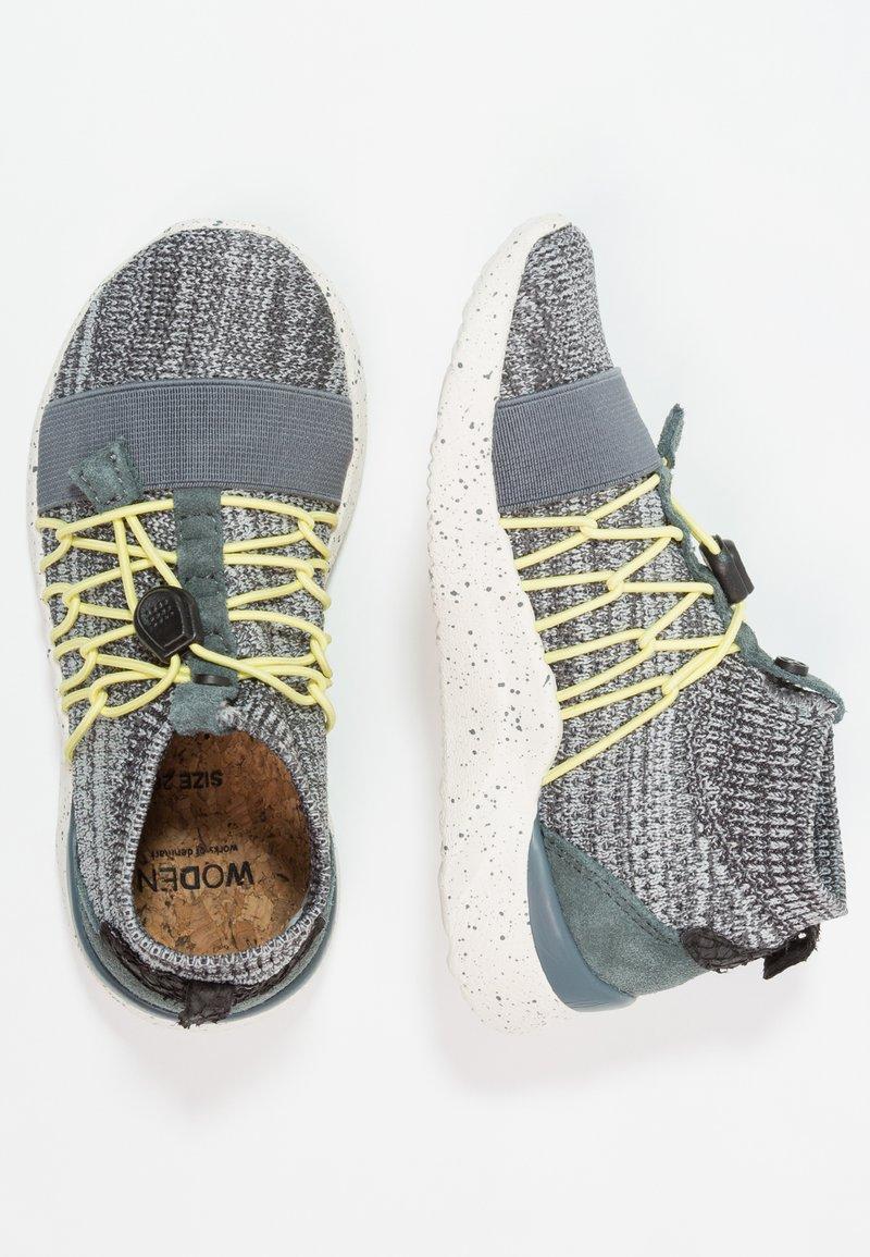 Woden - TYR KIDS - Sneakersy wysokie - dark grey