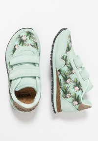 Woden - NORA FLOWER KIDS TEEN - Sneakersy niskie - misty jade - 0