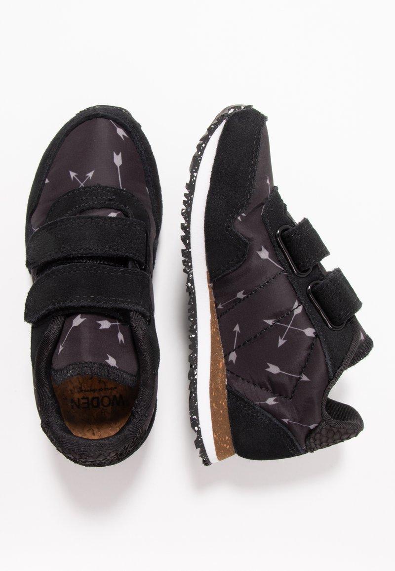Woden - NOA ARROW - Sneaker low - black