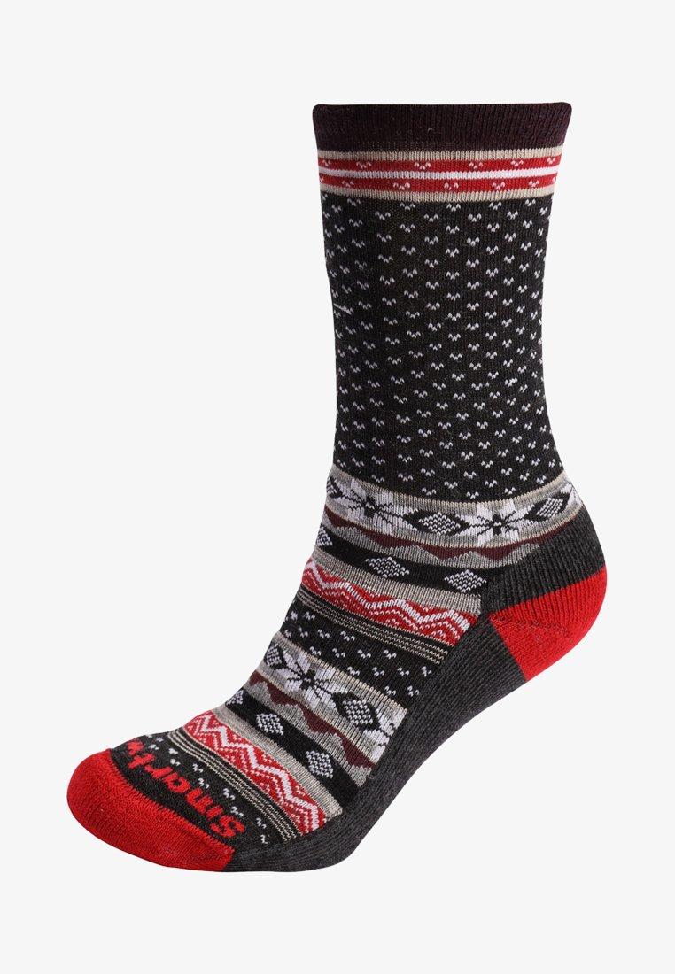 Smartwool - COZY CABIN CREW - Sports socks - charcoal heather