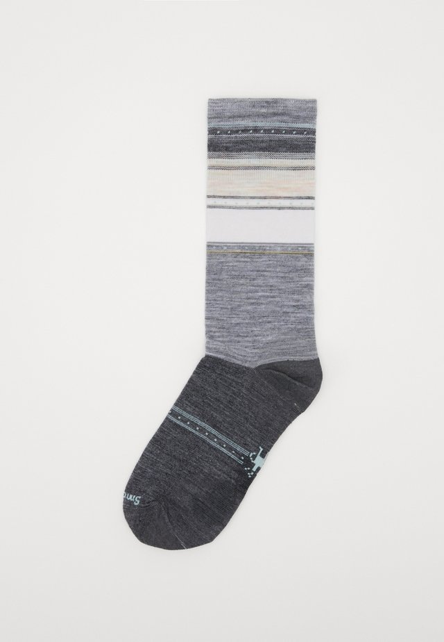 SULAWESI STRIPE CREW  - Sports socks - light gray