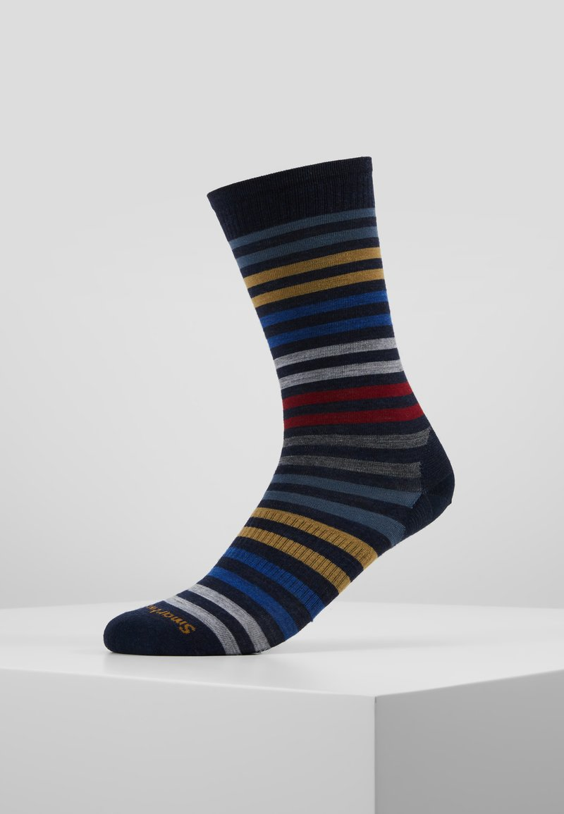 Smartwool - SPRUCE STREET CREW  - Sports socks - deep navy