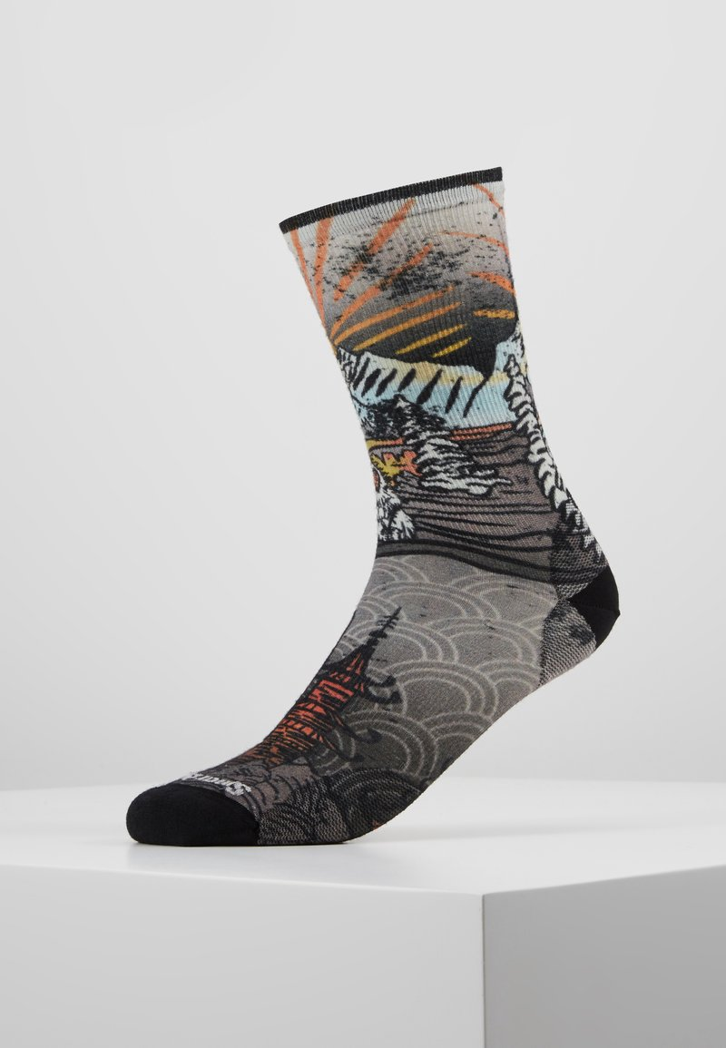 Smartwool - CURATED MONKEY - Urheilusukat - multi color