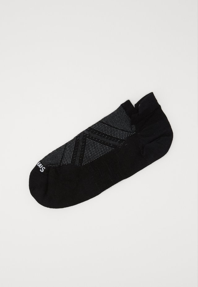 PHD RUN MICRO BLACK - Sports socks - black
