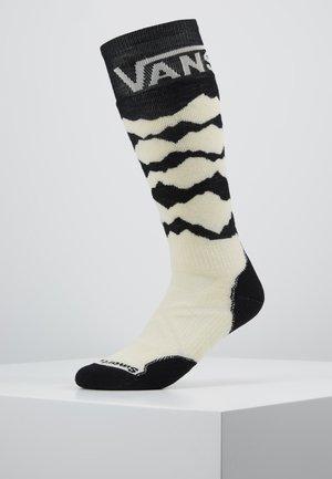 MOUNTAINS - Sports socks - black