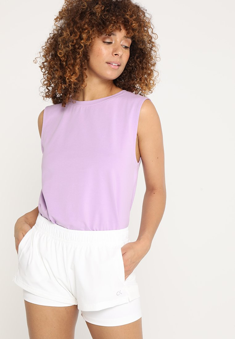 Wolf & Whistle - KNOT FRONT VEST - Top - lilac