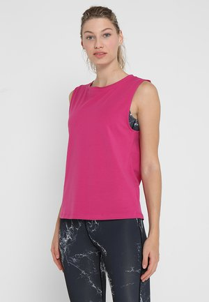 KNOT FRONT VEST - Toppe - pink