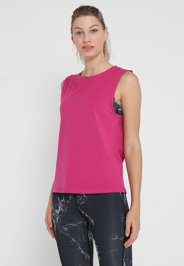 Wolf & Whistle - KNOT FRONT VEST - Toppe - pink