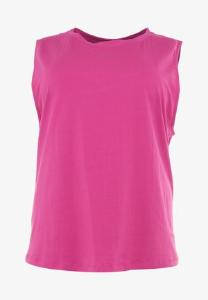KNOT FRONT VEST - Top - pink