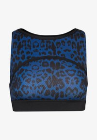 Wolf & Whistle - PAINTED LEOPARD  - Top - blue - 3