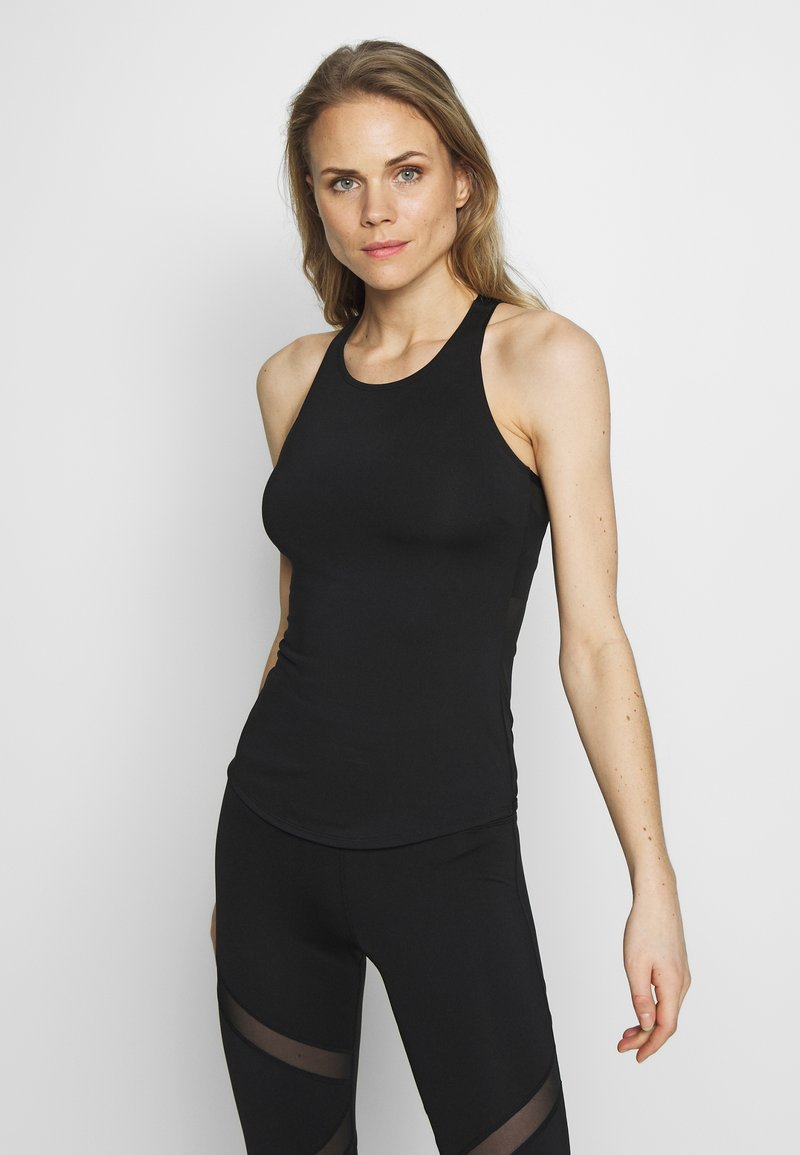 Wolf & Whistle - EXCLUSIVE BACK TOP - Top - black