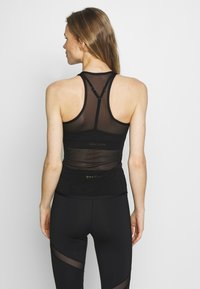 Wolf & Whistle - EXCLUSIVE BACK TOP - Top - black - 2