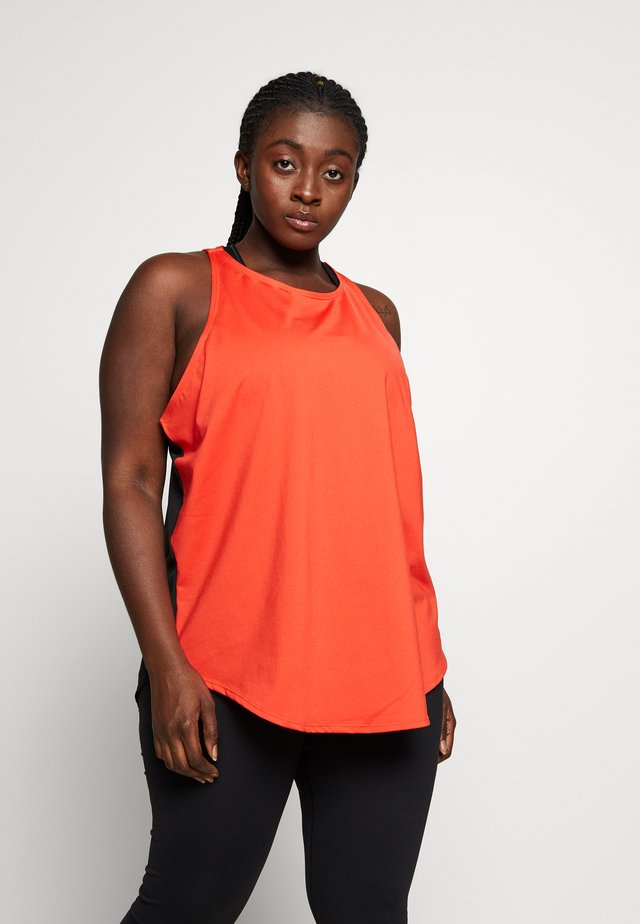 EXCLUSIVE BACK RUST - Top - red