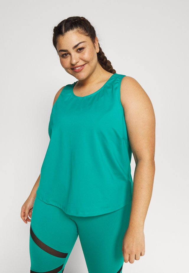 EXCLUSIVE TO ZALANDO - Top - teal