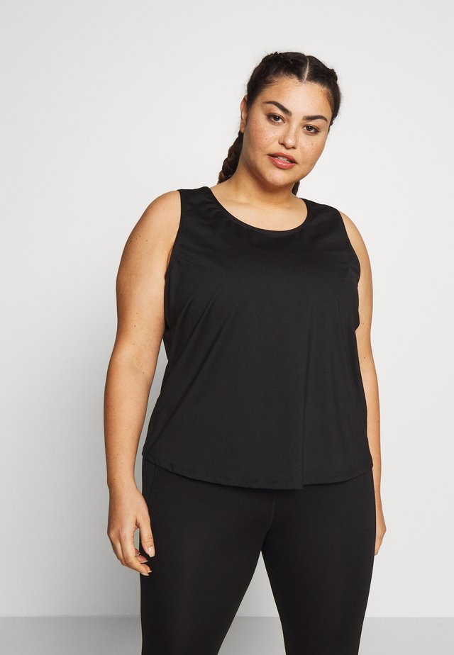 EXCLUSIVE TO ZALANDO - Top - black