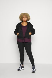 Wolf & Whistle - EXCLUSIVE - Top - plum - 1