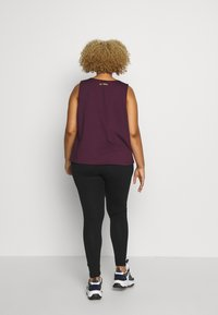 Wolf & Whistle - EXCLUSIVE - Top - plum - 2