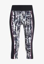 PAINT SPLATTER CROPPED LEGGINGS - 3/4 sports trousers - multi