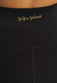Wolf & Whistle - EXCLUSIVE CROPPED LEGGINGS - Tights - black - 4