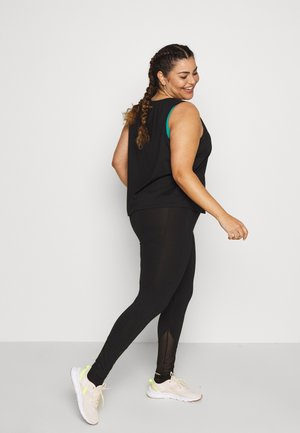 EXCLUSIVE LEGGINGS WITH PANELS - Tights - black