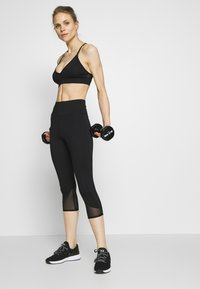 Wolf & Whistle - EXCLUSIVE STRAPPY BACK BRA - Sport BH - black - 1