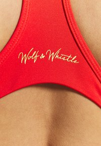 Wolf & Whistle - RACER BACK BRA - Sports-BH - red - 4