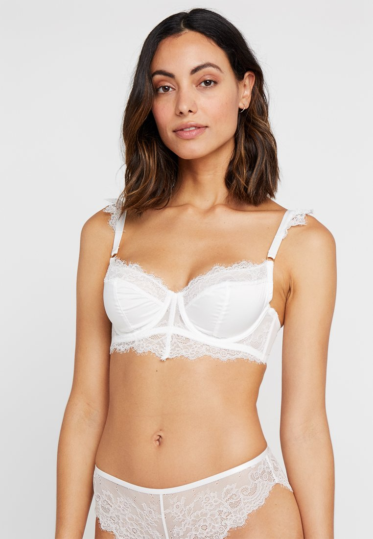 Wolf & Whistle - MILLIE EYELASH BRA - Underwired bra - ivory
