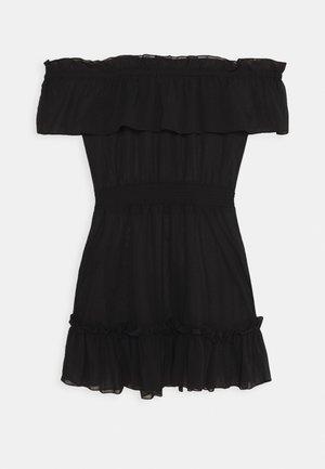 BARDOT FRILL BEACH DRESS - Beach accessory - black