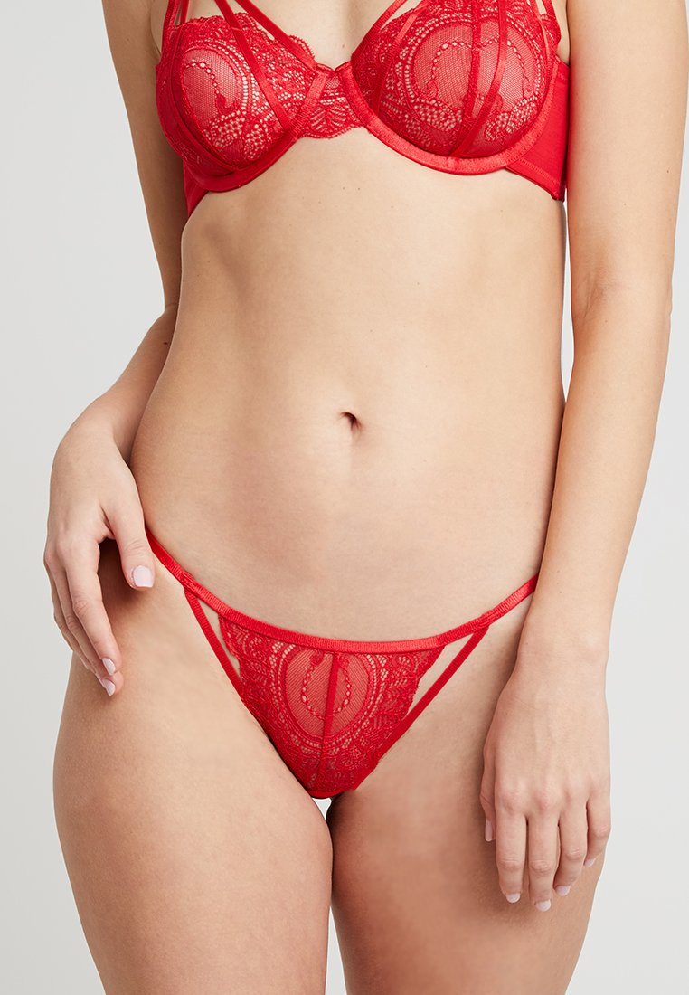 Wolf & Whistle - MARIBEL BRAZILIAN BRIEF - Underbukse - red