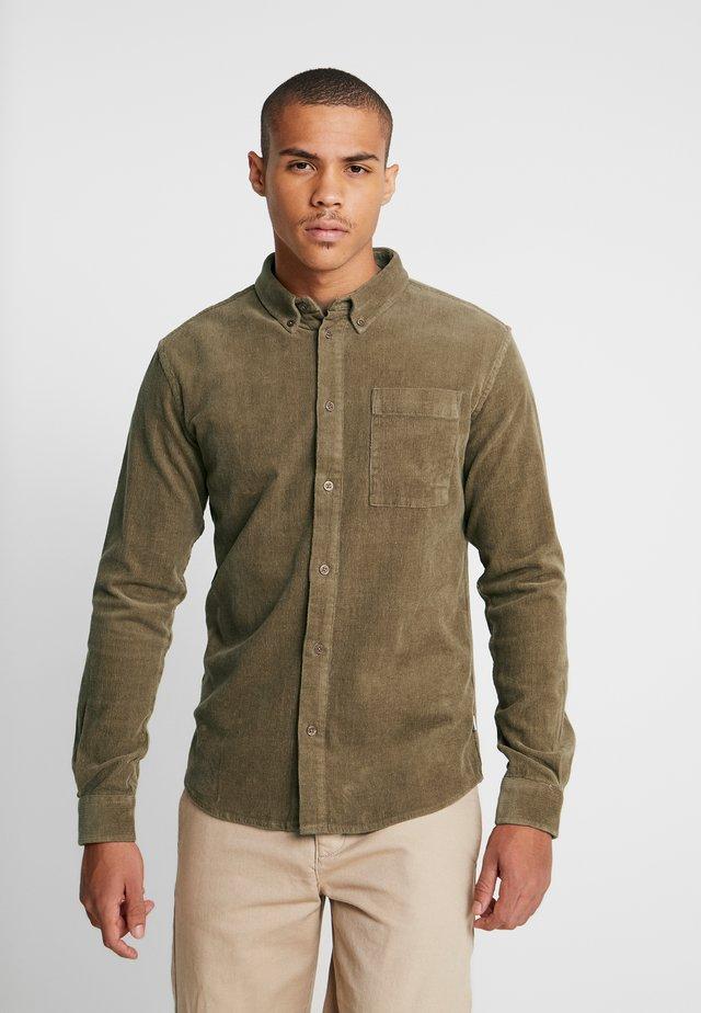 CORDIE SHIRT - Camicia - brownie