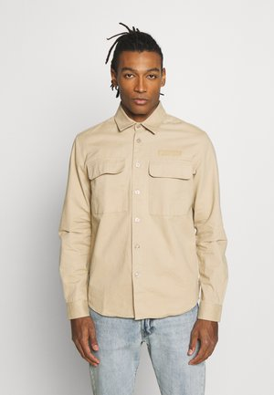 HOXEN WORK - Shirt - sand