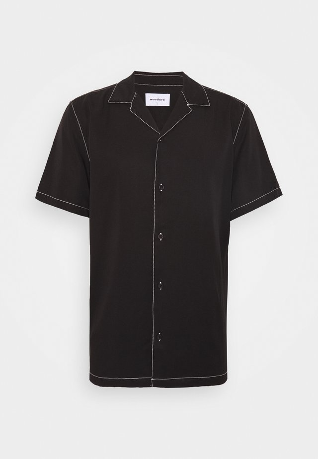 FONTRA STITCH - Shirt - black