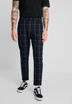 KLAUS HOYSTER PANT - Pantalones - navy