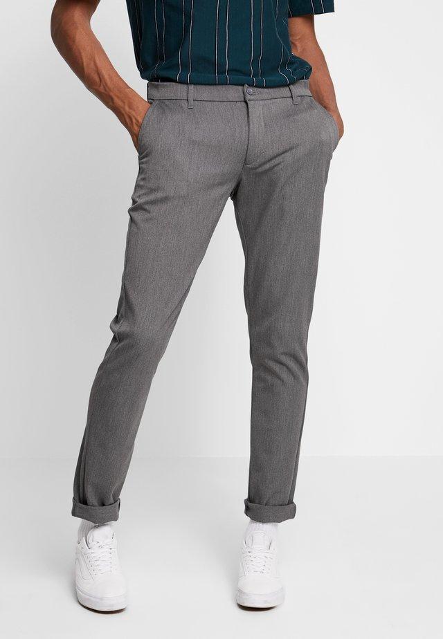 STEFFEN PANT - Spodnie materiałowe - light grey