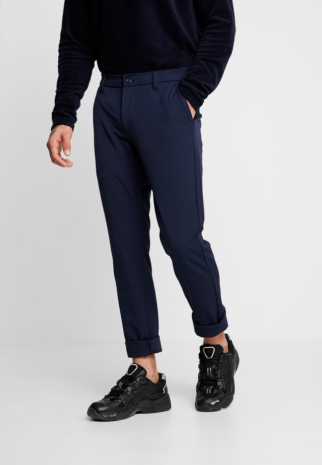 STEFFEN PANT - Trousers - midnight blue