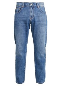 Woodbird - DAD FIT - Džíny Relaxed Fit - blue vintage - 0
