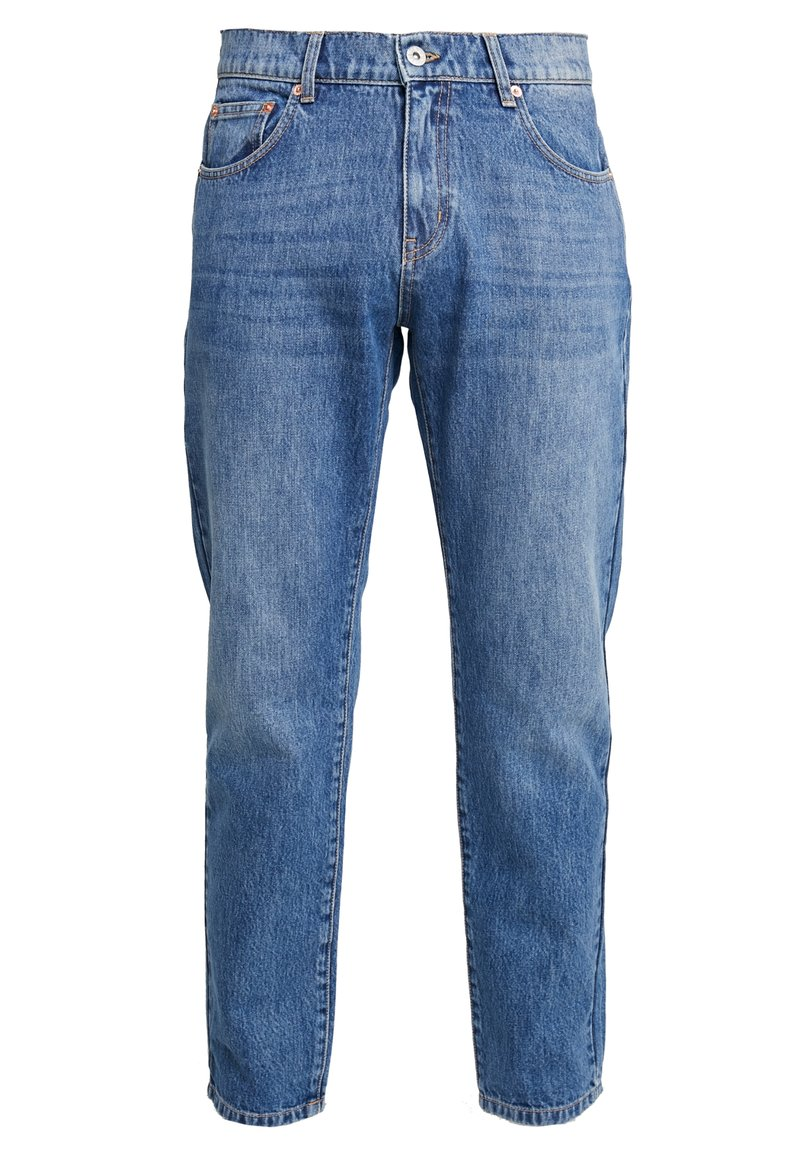 Woodbird - DAD FIT - Relaxed fit jeans - blue vintage