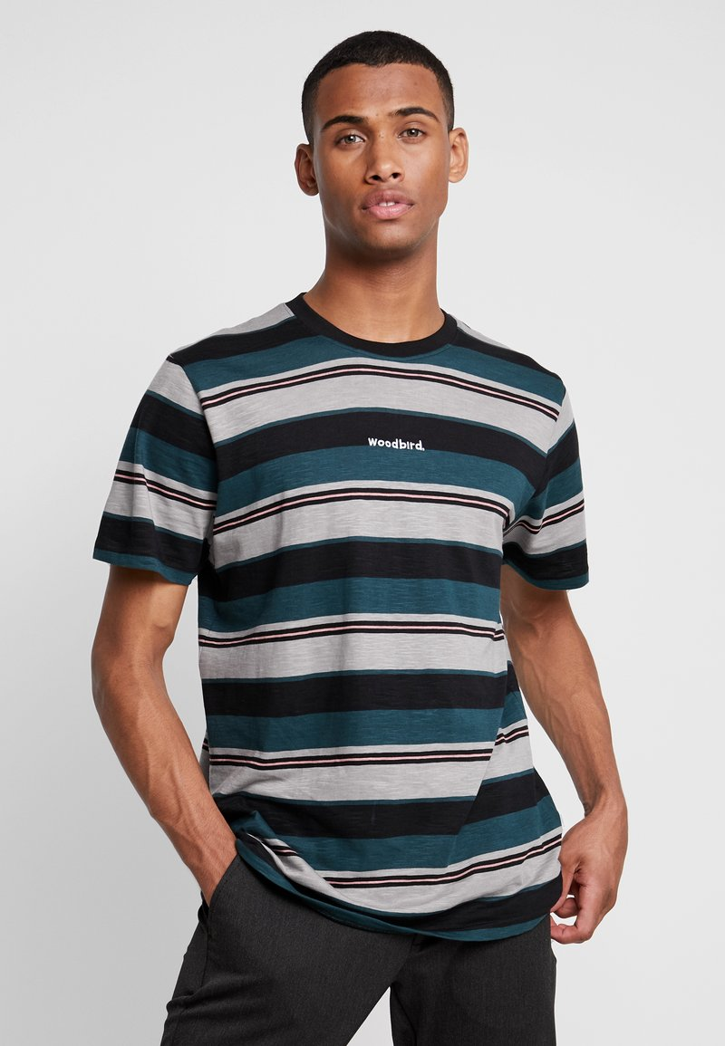 Woodbird - CJUNG STRIPE TEE - T-shirt print - multicoloured