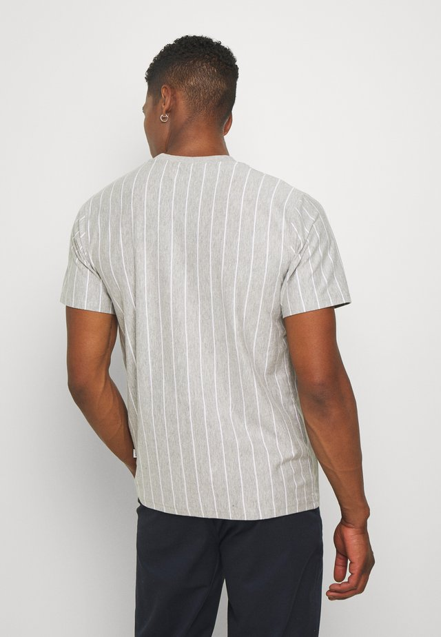 MELLO TEE - Print T-shirt - grey melange