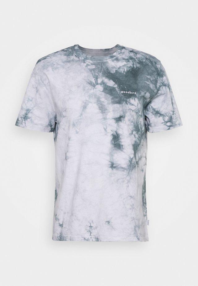 TEDY TIE DYE TEE - Print T-shirt - mint