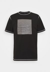 Woodbird - DIZZY TEE - Print T-shirt - black - 3