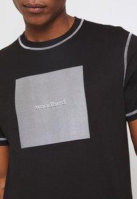 Woodbird - DIZZY TEE - Print T-shirt - black - 4
