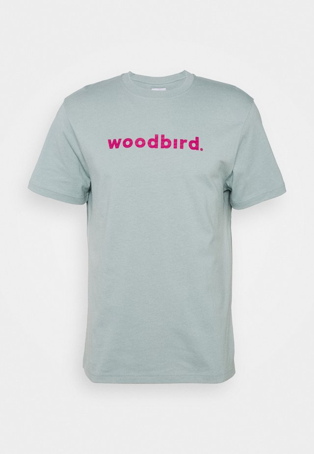 KARL LOGO TEE - Print T-shirt - mint