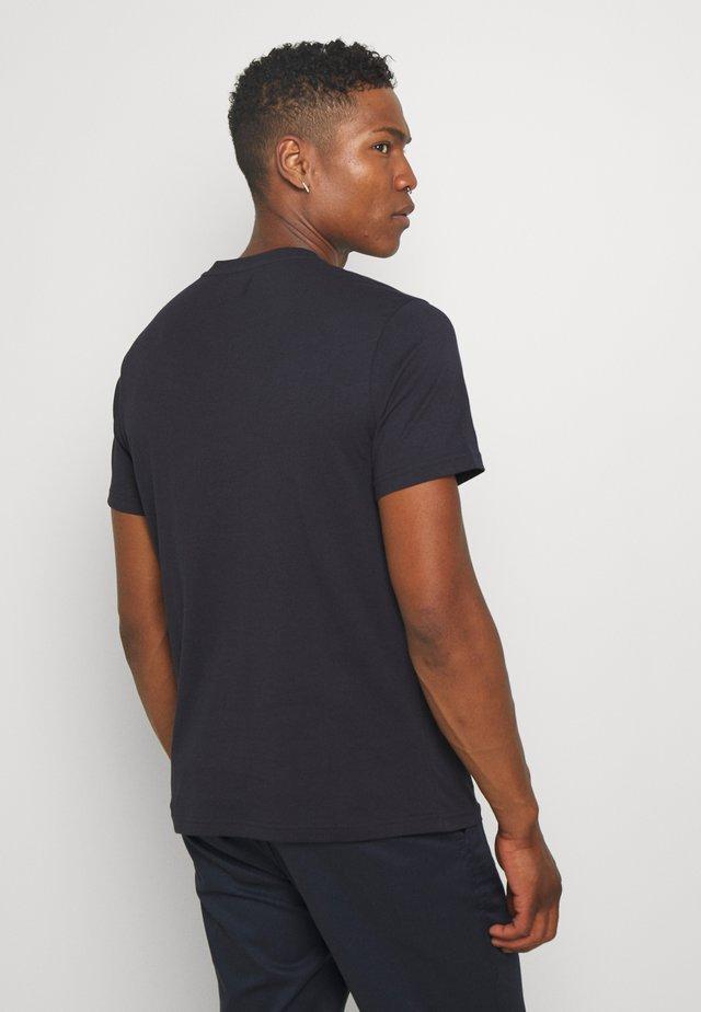 BLOKE TEE - Print T-shirt - navy